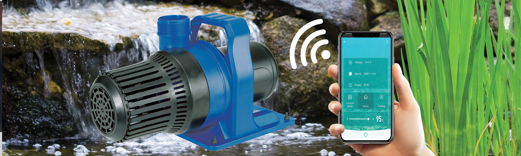 Bermuda Filter Wifi Pump
